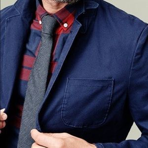 GOODFELLOW & CO CASUAL NAVY TWILL BLAZER